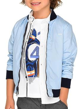 Windbreaker Mayoral Captain Blu Navy Boy