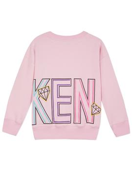 Sweatshirt Kenzo Guillema Rosa For Girl