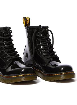 Bootss Dr Martens Junior 1460 Patent Black Boys