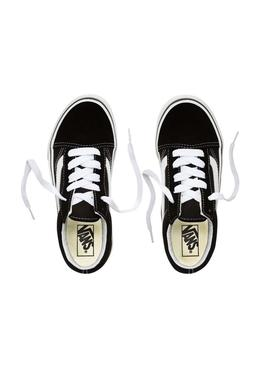 Shoe Vans Old Skool Black Girl and Boy