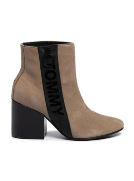 Ankle boots Tommy Jeans Mid Heel Camel Woman