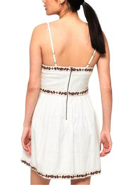 Dress Superdry Tamara Boutique White Woman