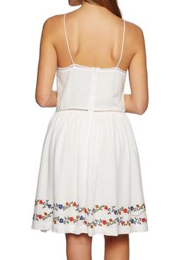 Dress Superdry Katalina White Woman