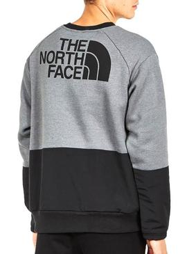 Pullover The North Face Graphic Grey Man