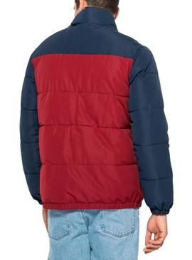 Jacket Fila Padded Tricolor Pelle For Man