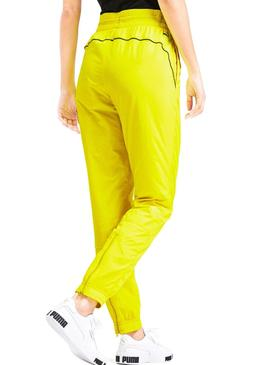 Pants Puma Chase Woven Yellow For Woman
