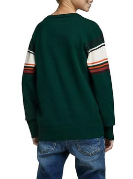 Sweater Jack and Jones Peak Green Boy