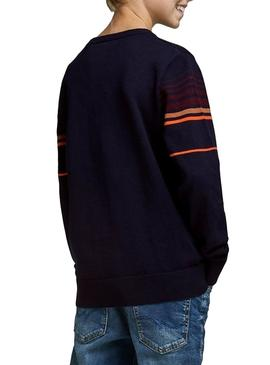 Sweater Jack and Jones Peak Blu Navy Boy