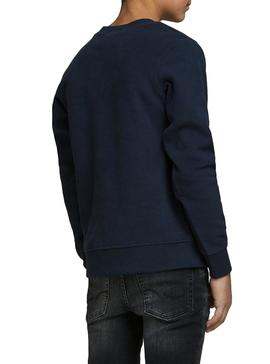 Sweatshirt Jack and Jones North Navy Blue Boy
