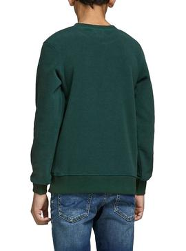 Sweatshirt Jack and Jones North Green Boy
