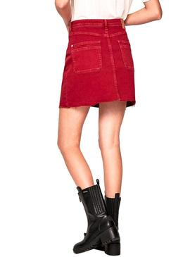 Skirt Pepe Jeans Vicky Red Woman