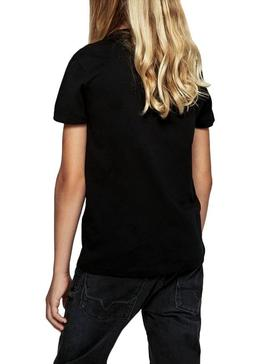 T-Shirt Pepe Jeans Terry Black For Boy