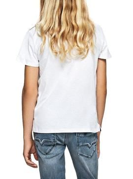 T-Shirt Pepe Jeans Troy White For Boy