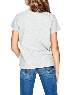 T-Shirt Pepe Jeans Cosmic Grey For Girl