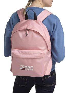 Backpack Tommy Jeans Cool City Pink For Woman