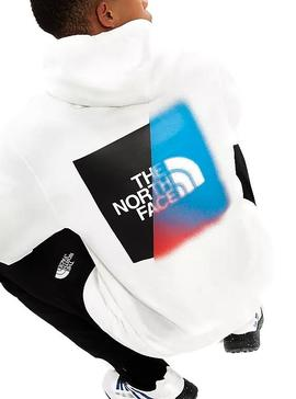 Sweatshirt The North Face Graphic White Man