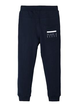 Pants Name It Banditto Blu Navy For Boy