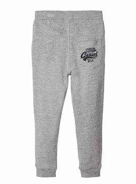 Pant Name It Banditto Grey For Boy