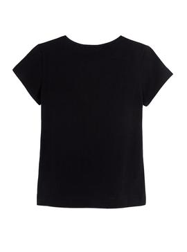 T-Shirt Mayoral Love Black for Girl