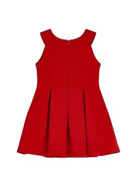 Dress Mayoral Otoman Point Red for Girl