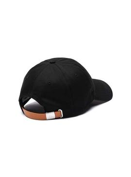 Cap Lacoste Croco Oversize Black Man and Woman