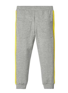 Pant Name It Voltano Grey for Boy