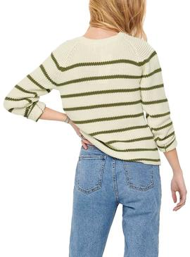 Pullover Only Marina Beige Woman