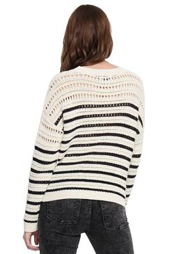 Pullover Only Martina Beige Woman