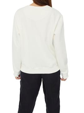 Sweatshirt Ecoalf San Diego White For Woman