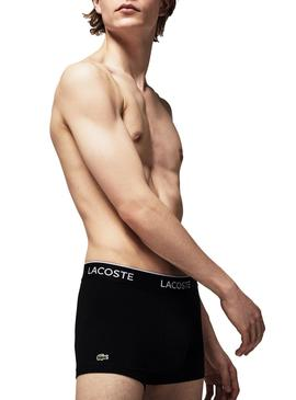 Pack 3 Boxers Lacoste Casual Black For Man
