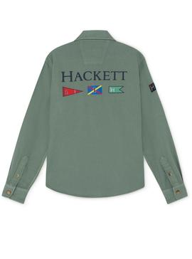 Shirt Hackett Military Green For Boy