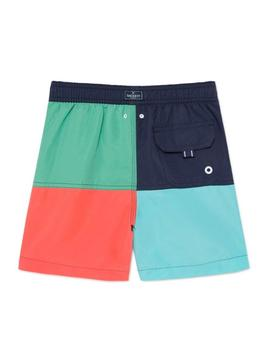 Swimsuit Hackett Volley Multicolor For Boys