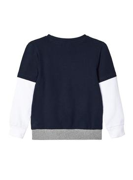 Sweatshirt Name It Zilla Navy for Boy