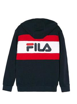 Sweatshirt Fila Ellanah Blu Navy For Boys