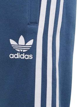 Trousers Adidas Trefoil Blue Girls and Boys