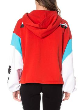 Sweatshirt Kappa Corys Red for Women