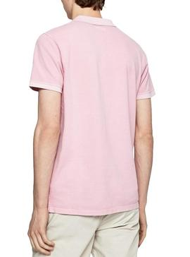 Polo Pepe Jeans Vicent Pink for Men