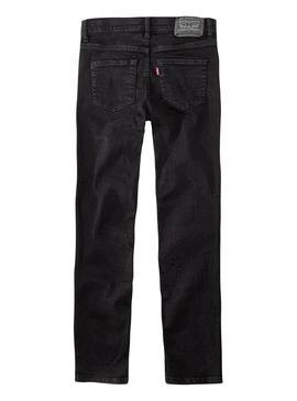 Jeans Levis 519 Black for Boy