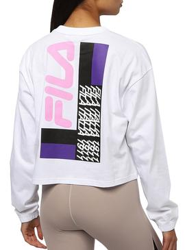 Sweatshirt Fila Calandra White For Women