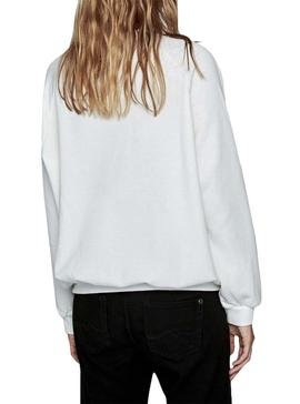 Sweatshirt Pepe Jeans Kara White For Women