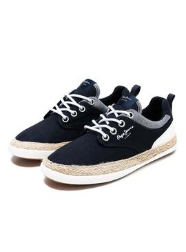Espadrilles Pepe Jeans Maui Blu Navy For Boy