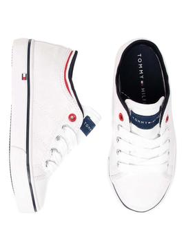 Sneaker Tommy Hilfiger Low White For Kids