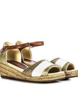 Sandals Tommy Hilfiger Wedge Glitter for Girl