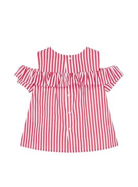 Blouse Mayoral Rayas Red for Girl