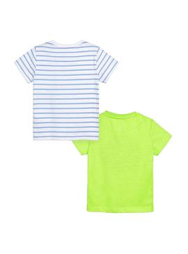 T-Shirts Mayoral Windsurf Green for Boy