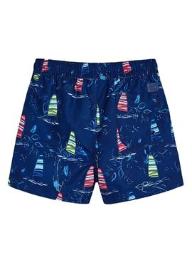 Swimsuit Mayoral Sky Blue Navy for Boy