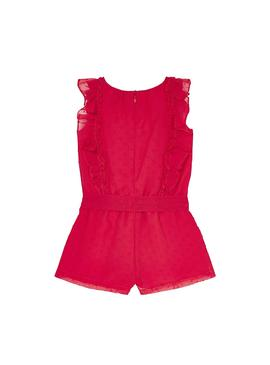 Jumpsuit Mayoral Plumeti Red for Girl