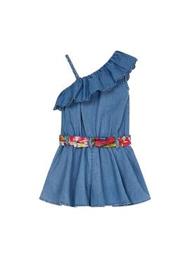Jumpsuit Mayoral Blue Denim for Girl