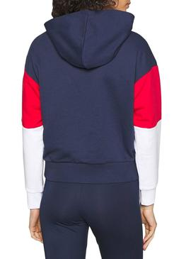 Sweatshirt Fila Barret Crooped Blu Navy Woman