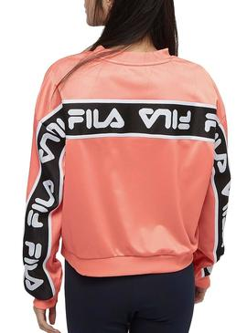 Sweatshirt Fila Tallis Pink For Women